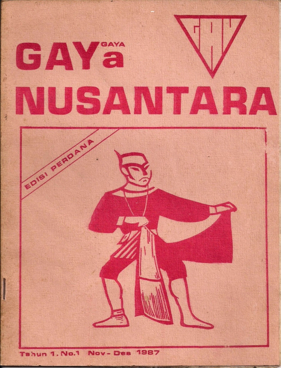 Majalah GAYa NUSANTARA No. 1 Tahun 1987