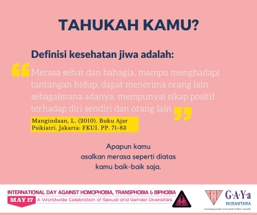 IDAHOT Day 2